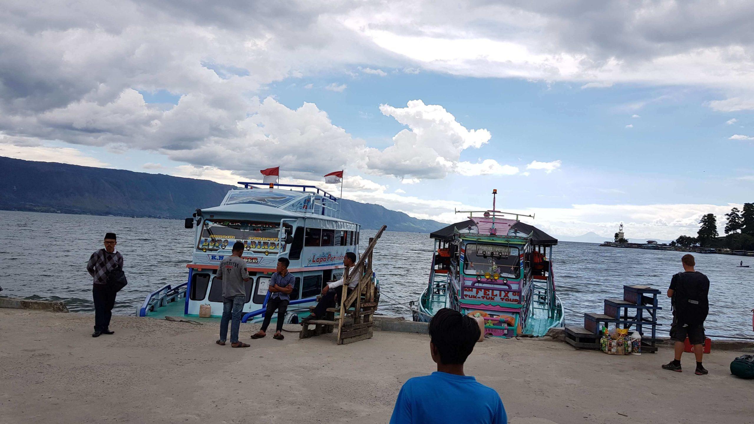Anreise zur Insel Samosir