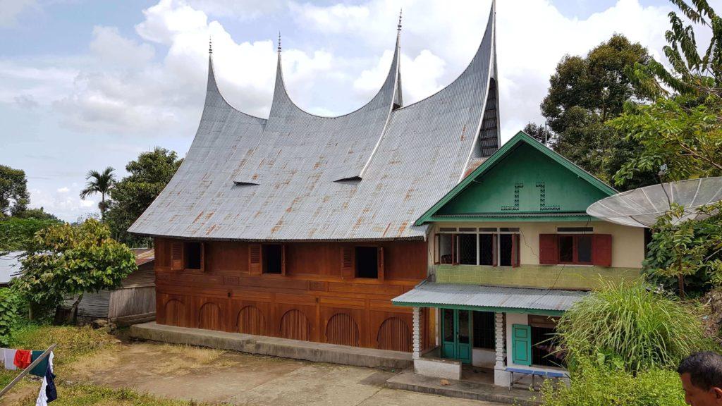 Minangkabau-Dorf