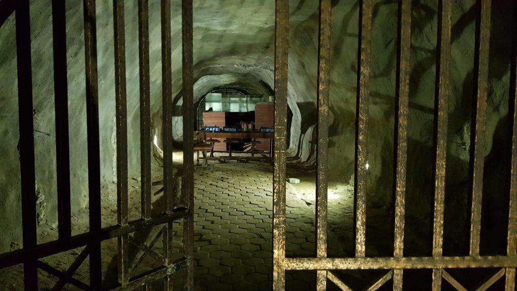 Raum im Japanischen Tunnel