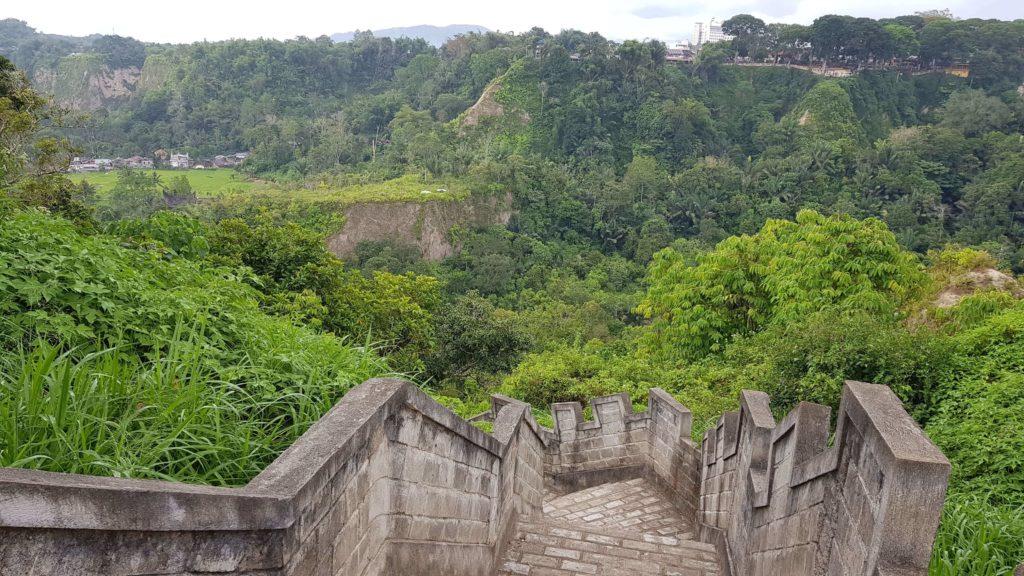 Chinesische Mauer von Koto Gadang