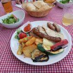 Plitvicer Seen: Abendessen House Katarina