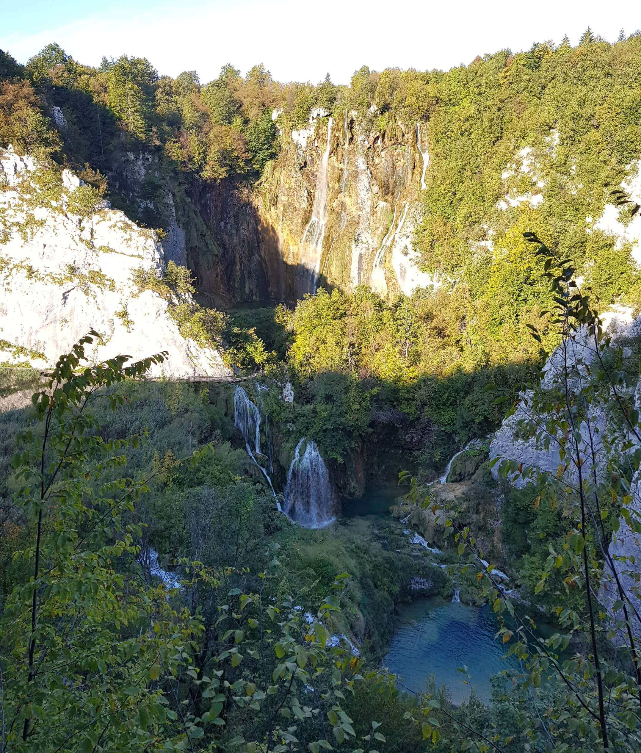 Unterer Bereich der Plitvicer Seen