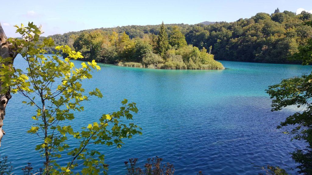 Plitvicer Seen: Blick auf den Kozjak-See