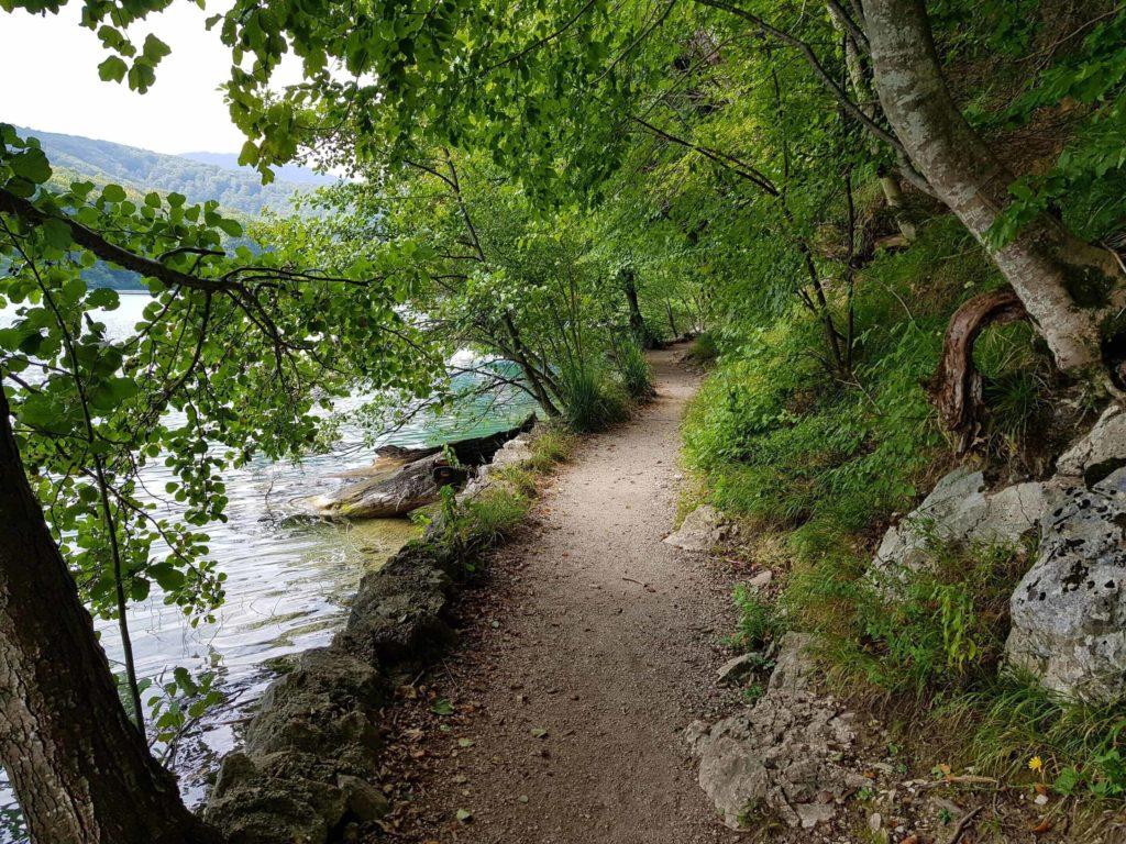 Rückweg Plitvicer Seen