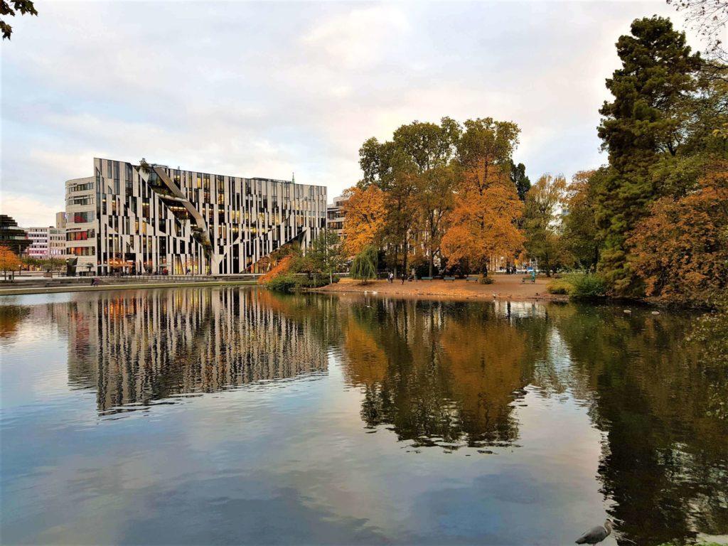 Fernweh Corona: Düsseldorf im Herbst