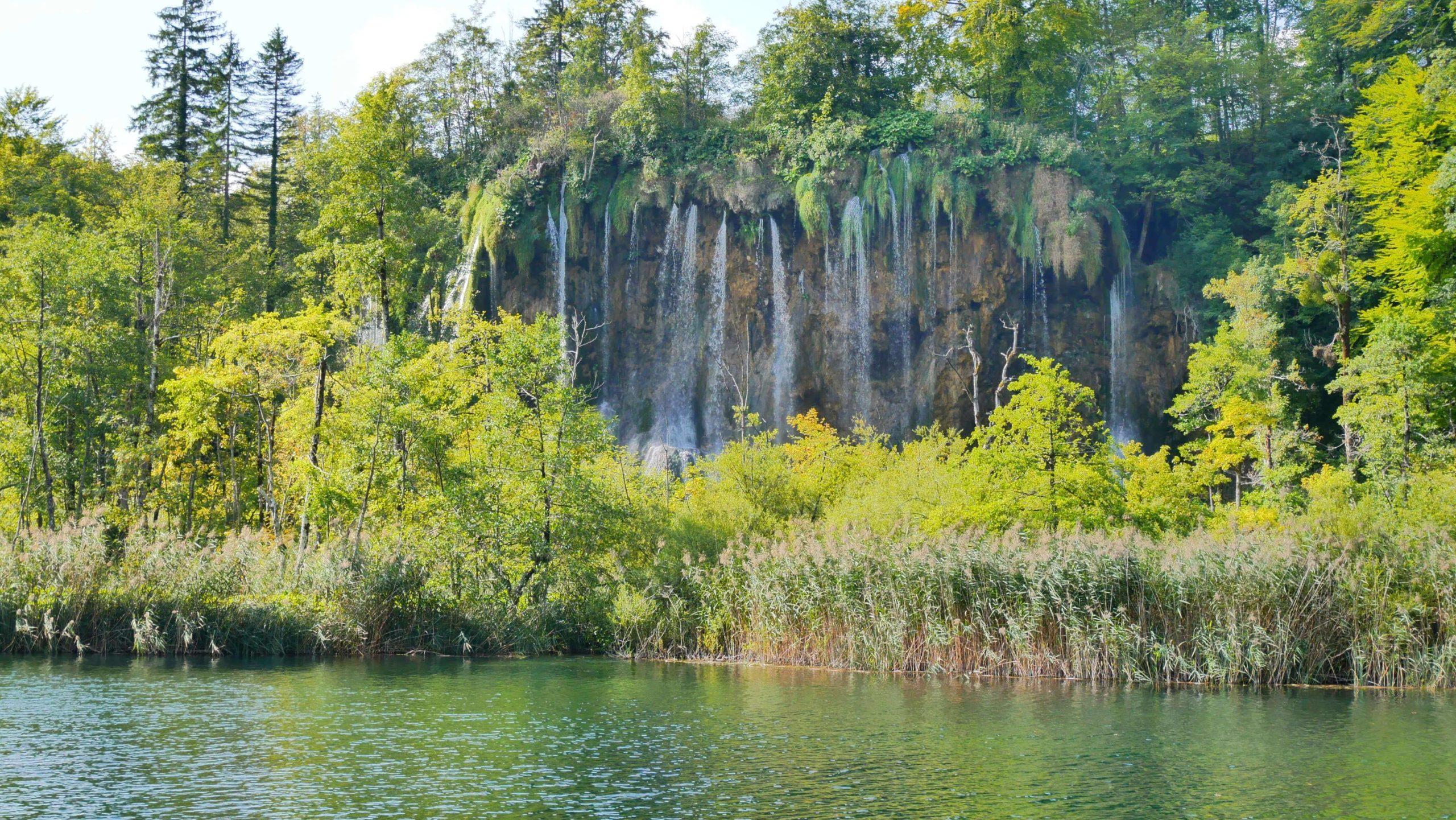 """Plitvicer Seen: Wasserfall """"Mali Prštavac"""""""