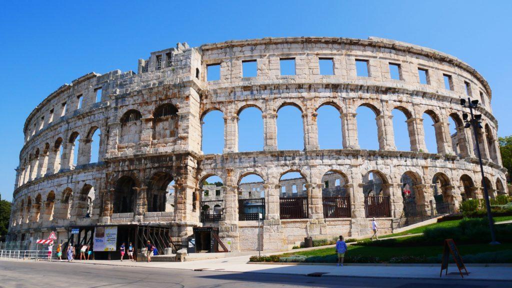 Sehenswürdigkeiten Istrien: Amphitheater von Pula