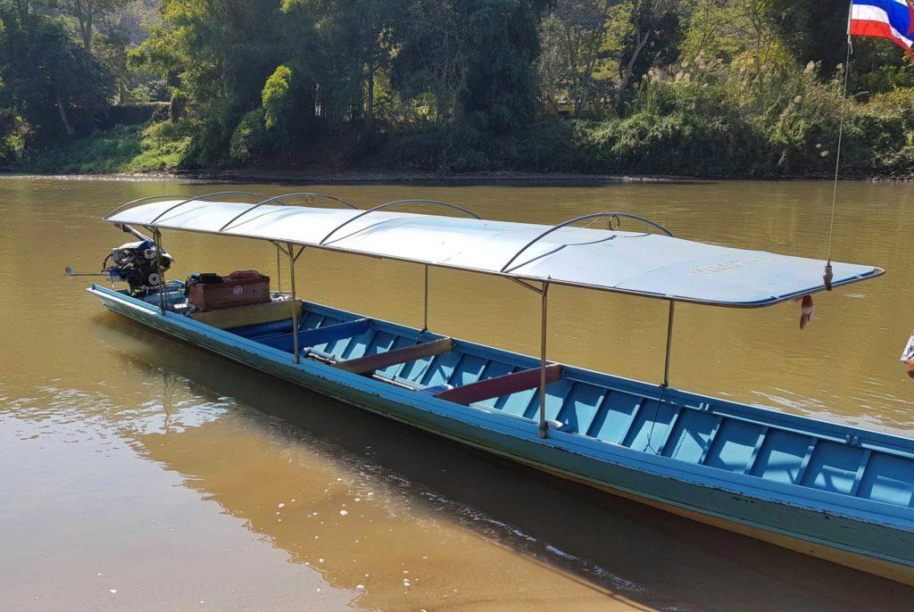 Trekking Chiang Rai: Long Tail Boat
