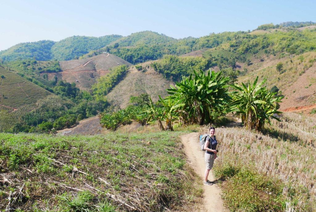 Trekking Chiang Rai: Landschaft