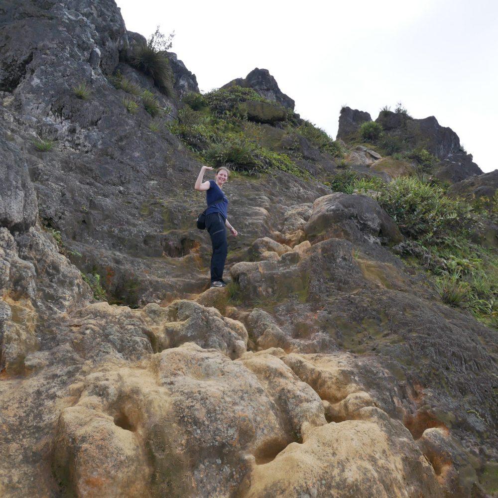 Gunung Sibayak: Aufstieg zum Gipfel
